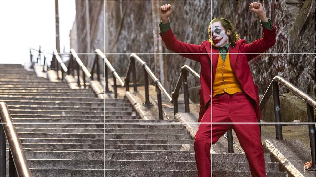 Rule of Thirds - Joker - StudioBinder