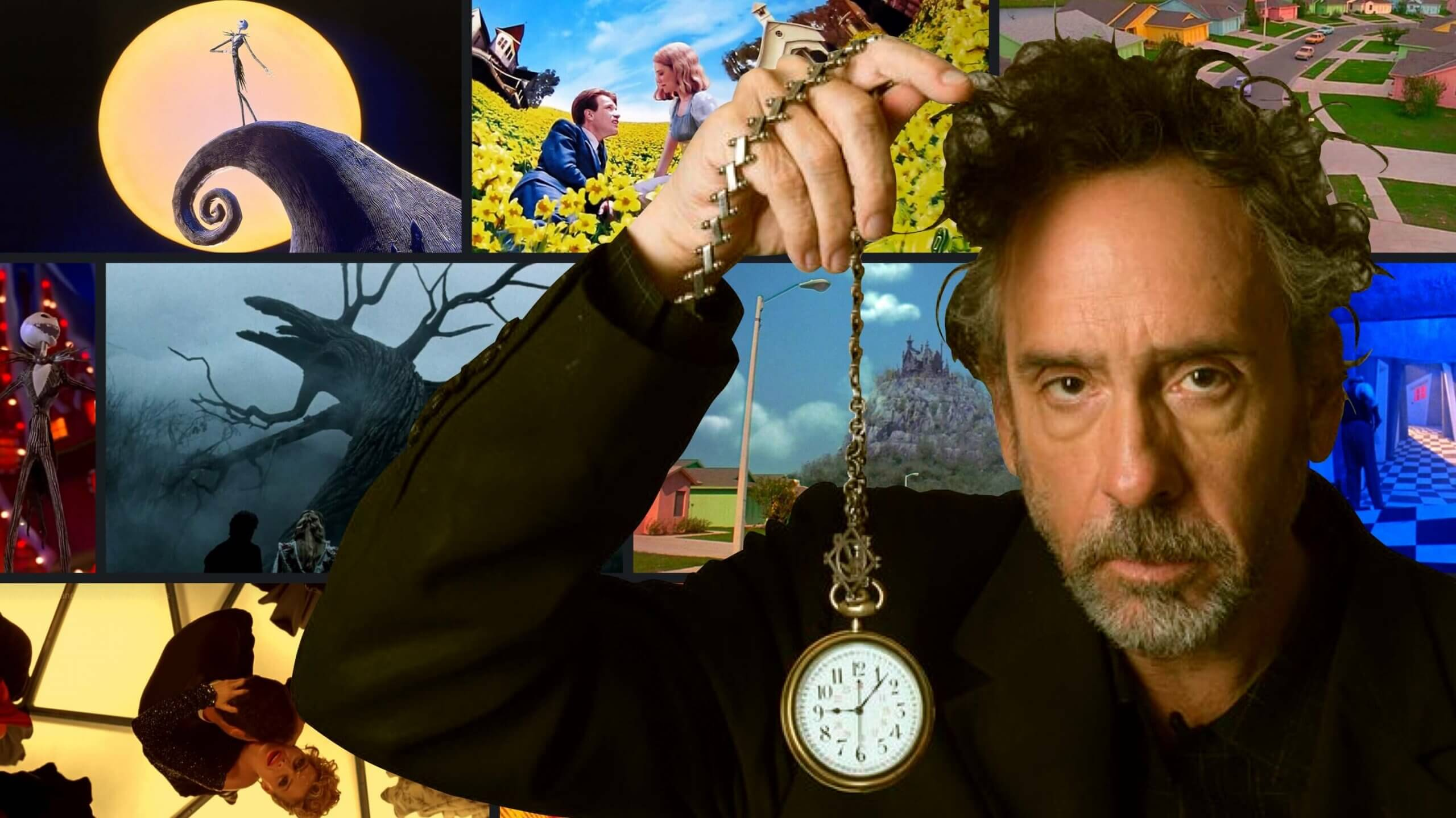 What is Burtonesque - Tim Burton Set Design - Mise en Scene Explained