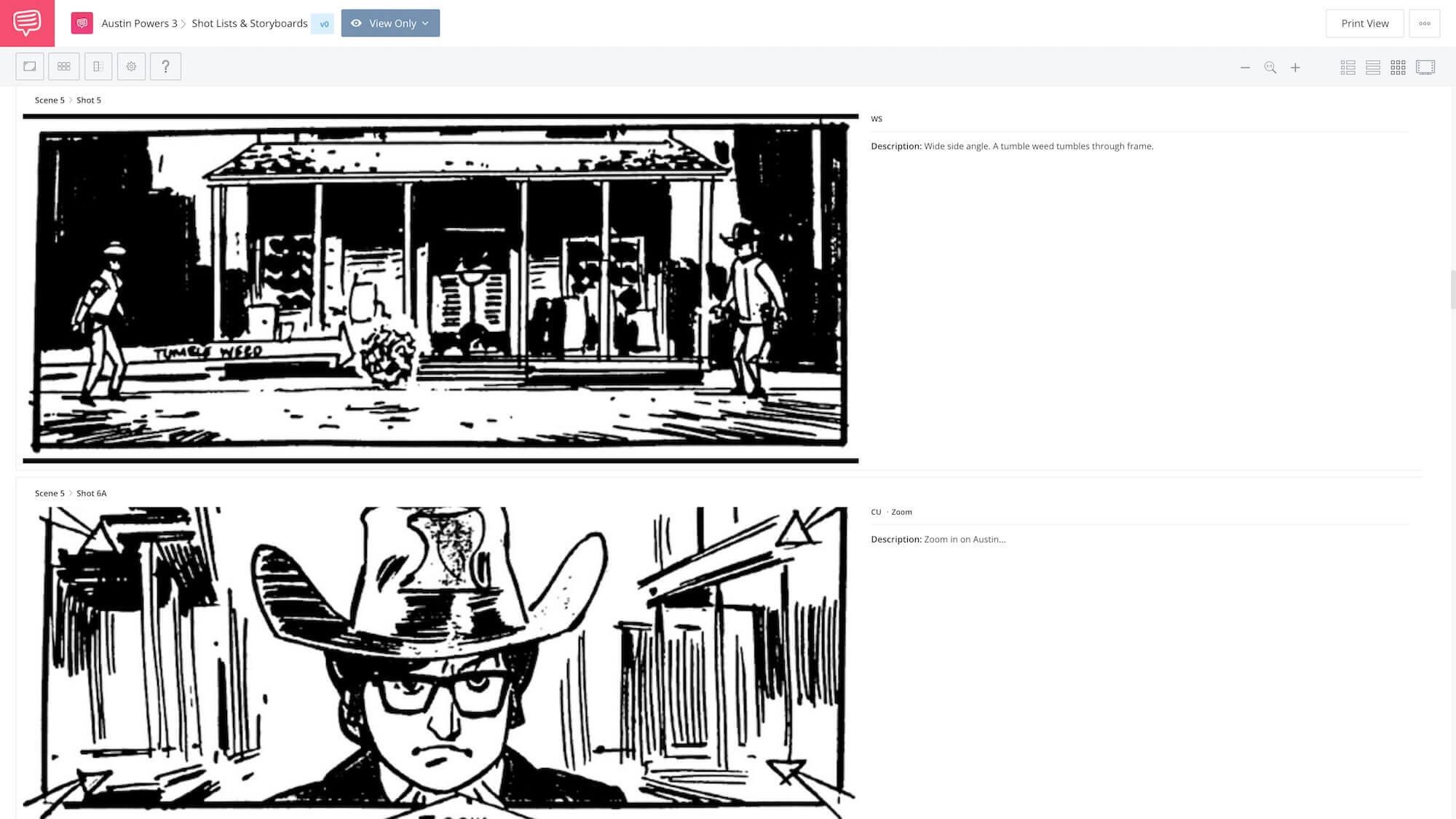 Austin Powers 3 - Wild West Showdown Scene App Tie-In - StudioBinder