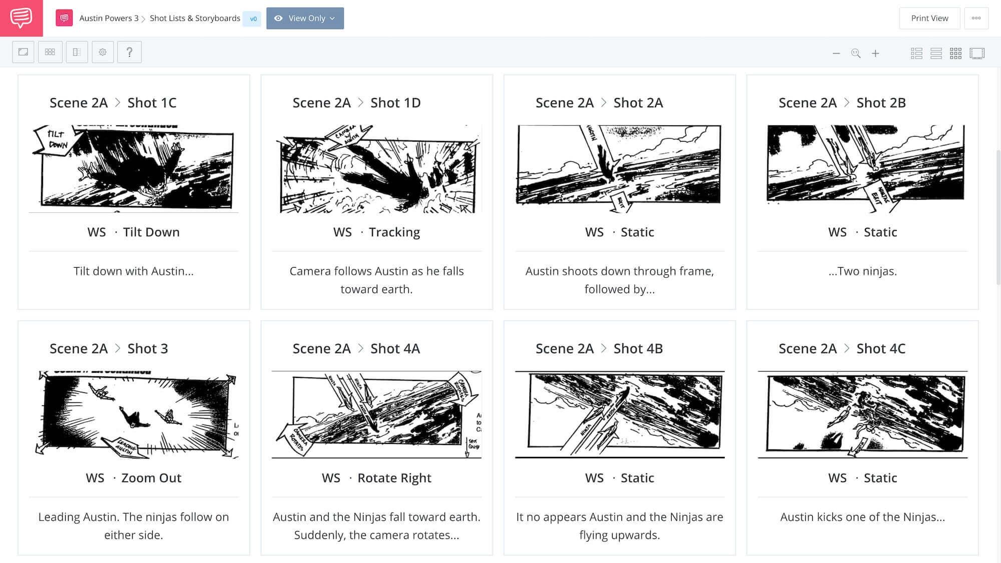 Sundance Jay Roach 2 Austin Powers - Space Ninja Scene App Tie-In - StudioBinder