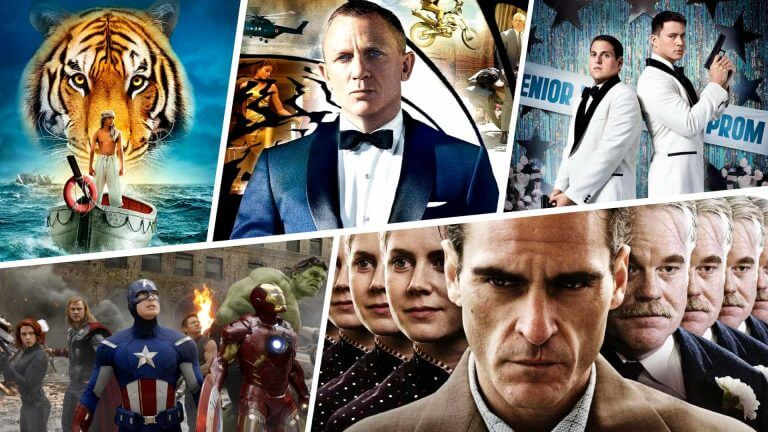 Best Movies of 2012 - Featured