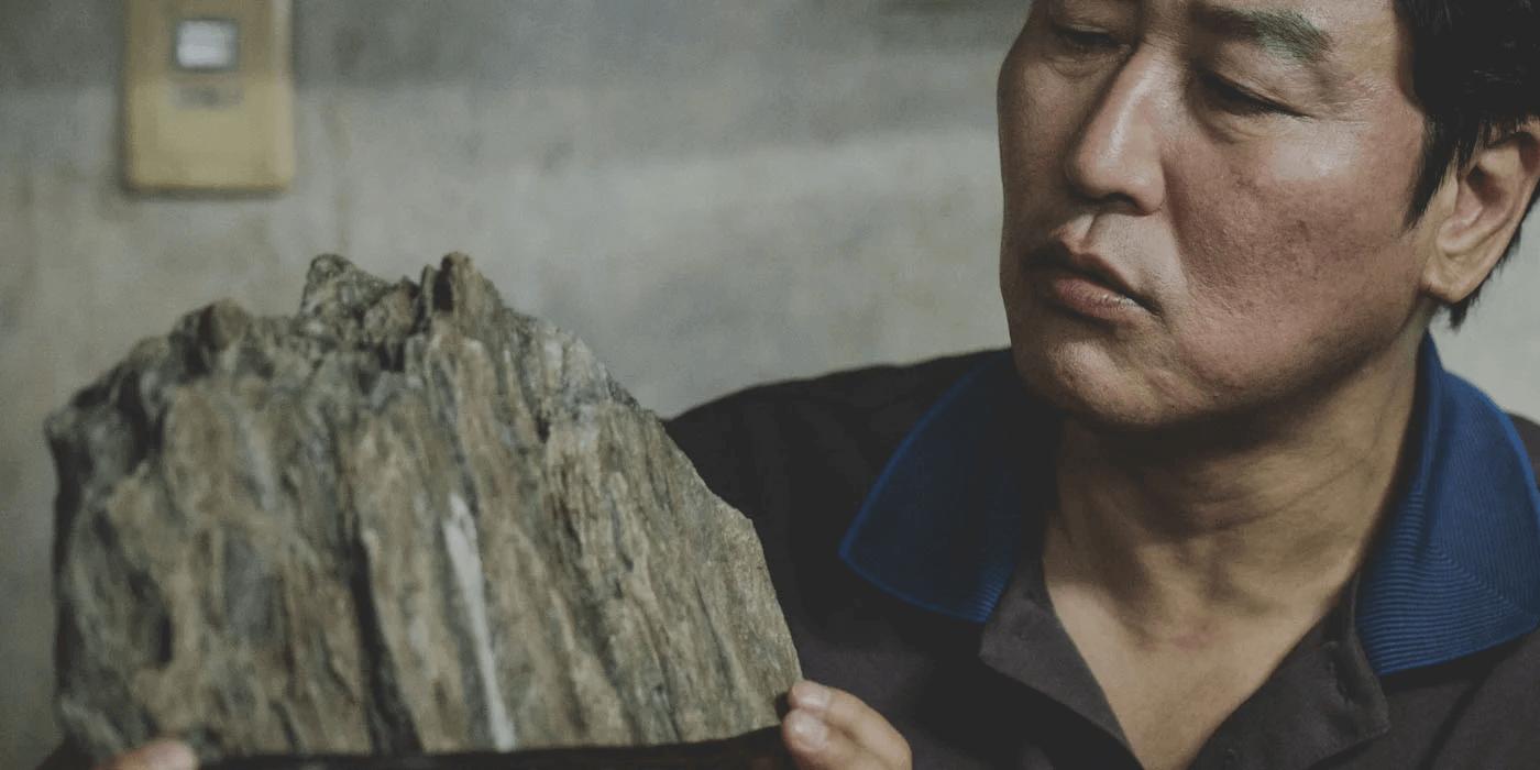 Ki taek with the scholar's stone