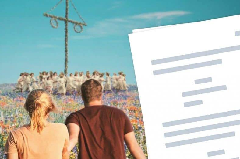 Midsommar Script PDF Download - Featured