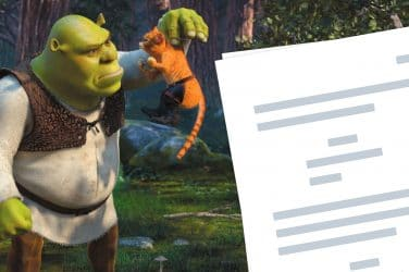 Shrek 2 Script Teardown - Featured -StudioBinder