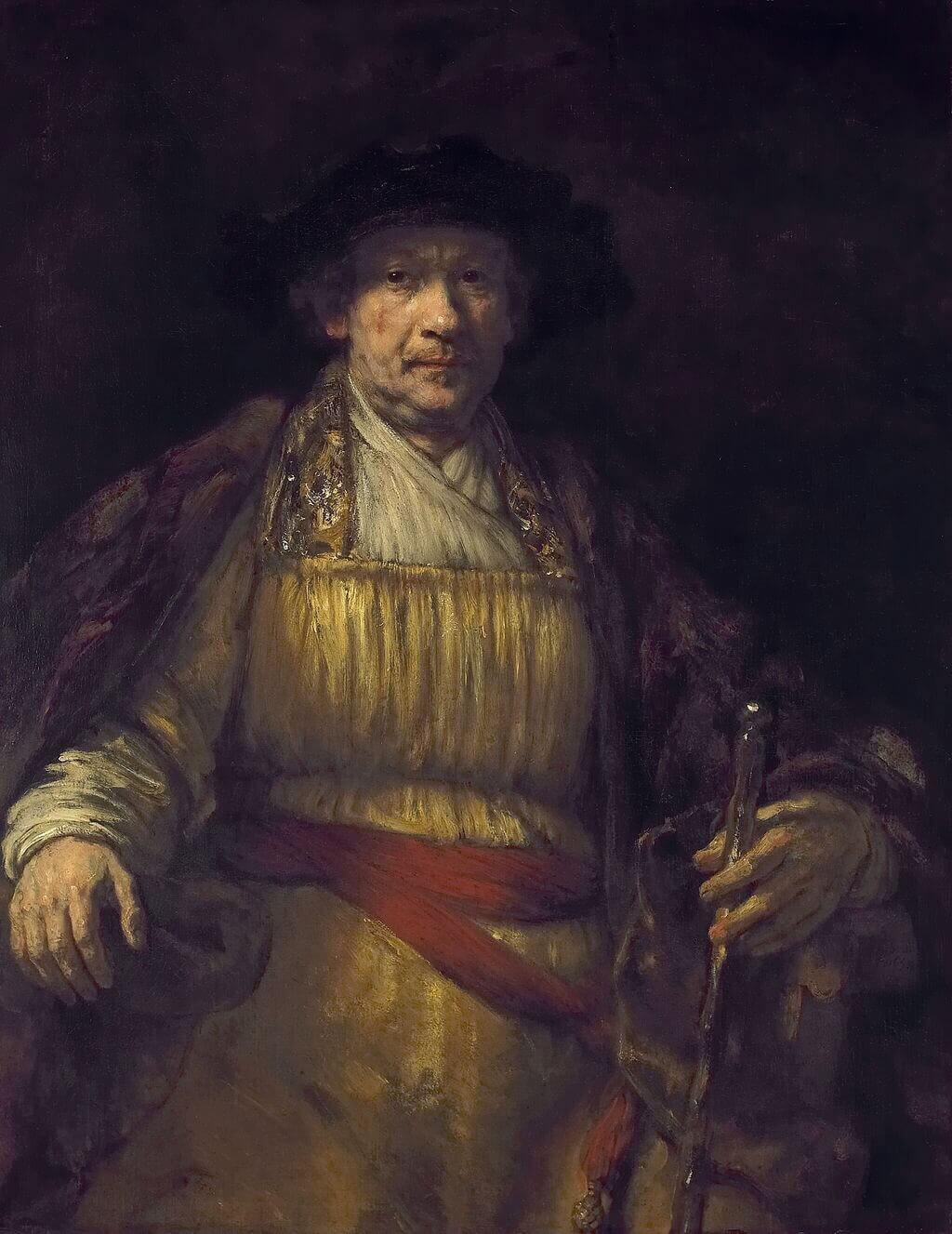 Rembrandt Lighting Setup and Examples for Photography and Film - Self Portrait - Rembrandt