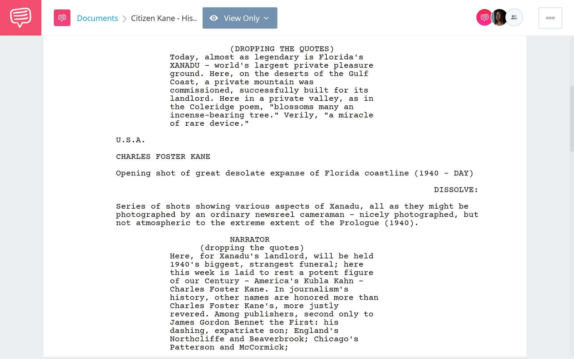 What is Allusion- Historical Allusion in Citizen Kane - StudioBinder Scriptwriting Software