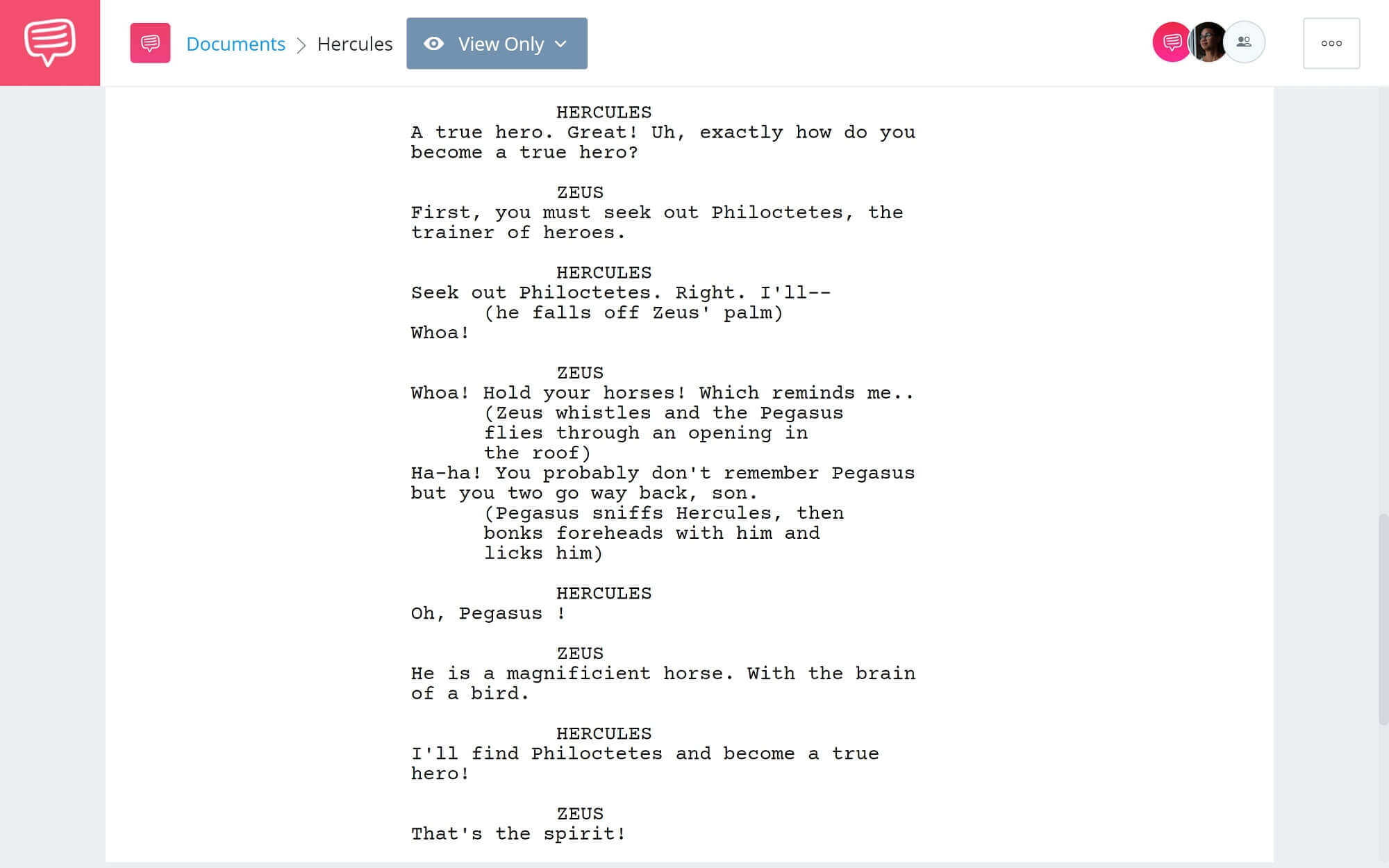 What is Protagonist - Hero in Hercules - StudioBinder Scriptwriting Software