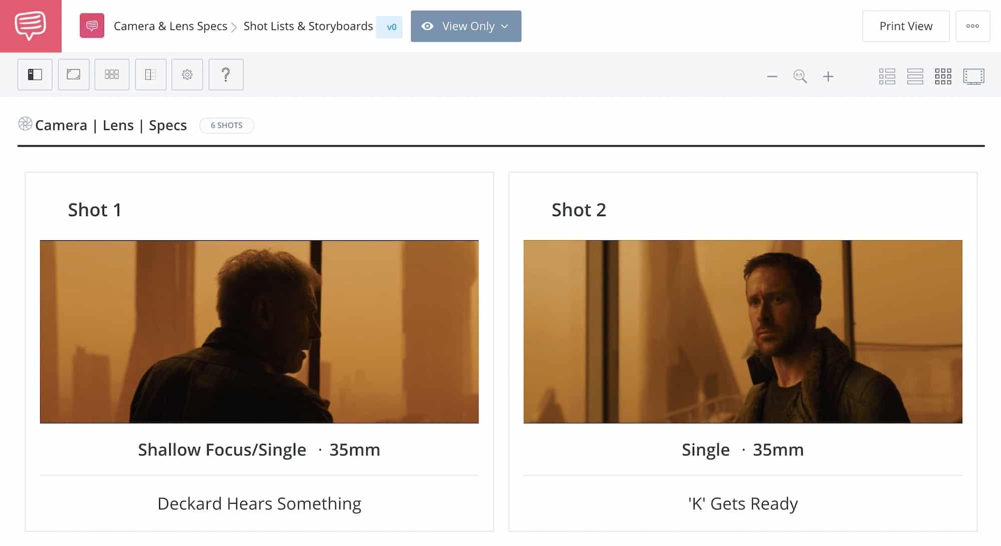 What is a Prime Lens - Blade Runner 2049 - Two Shot - StudioBinder