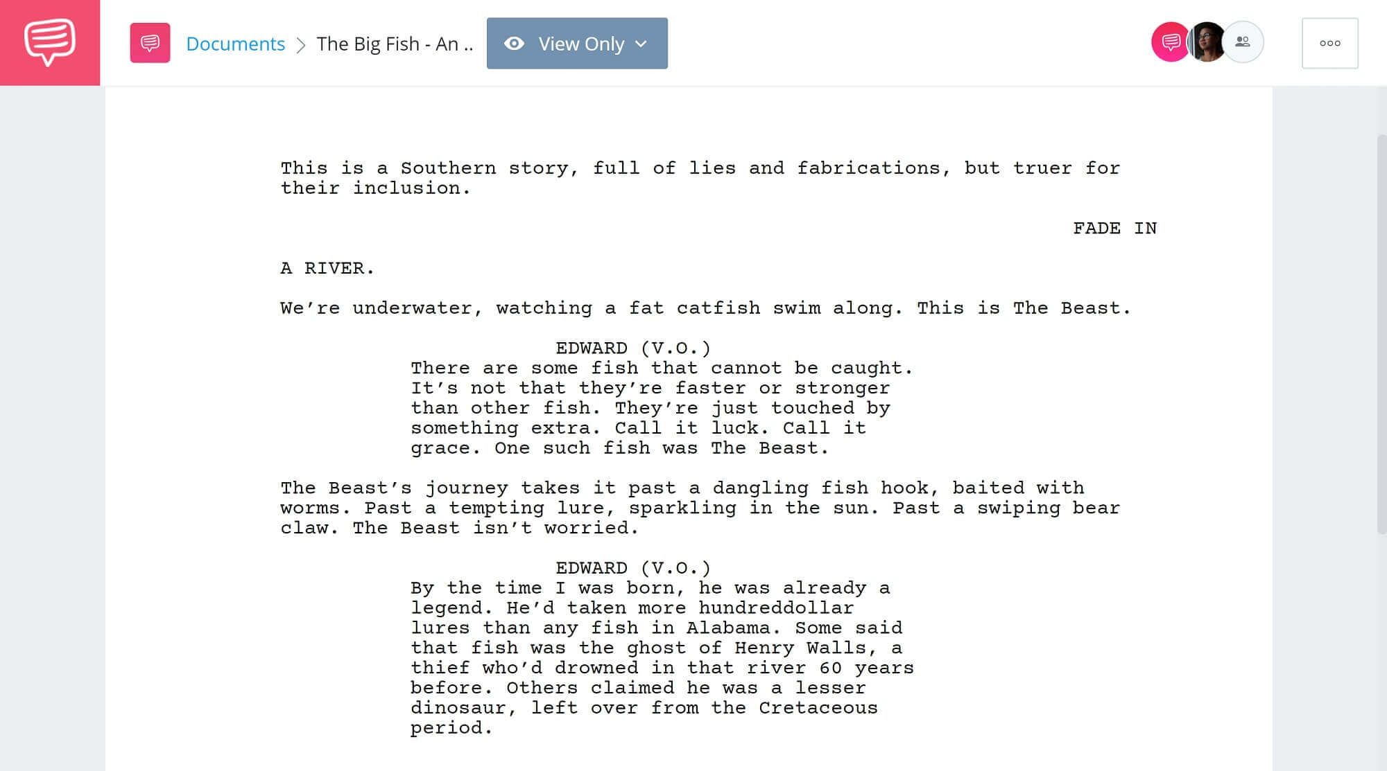 What is an Unreliable Narrator - The Big Fish An Introduction - Studiobinder Scriptwriting Software