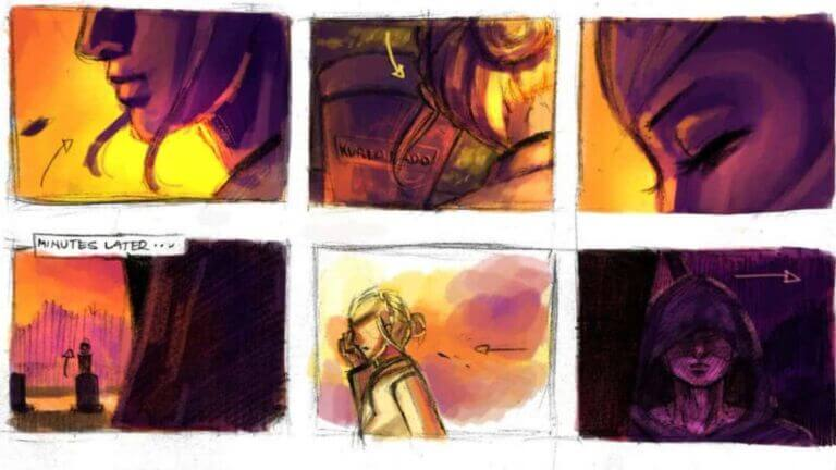 46 Storyboard Examples from popular films (with FREE Storyboard Templates) - StudioBinder