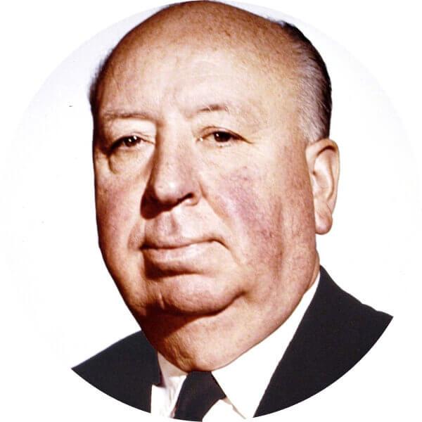 Alfred Hitchcock - Headshot