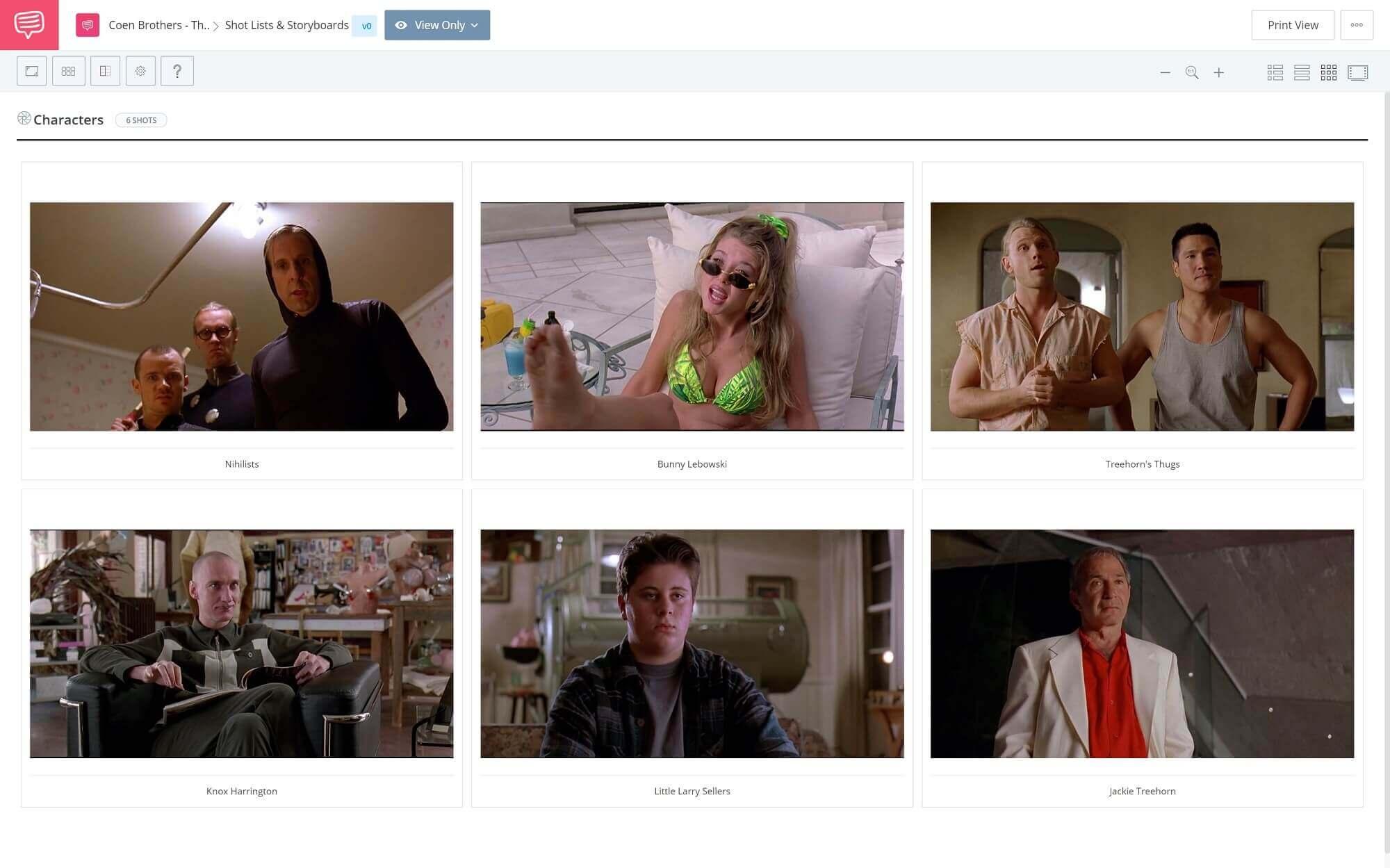 Best-Coen-Brothers-Movies-The-Big-Lebowski-Character-Shot-StudioBinder-Online-Storyboard-Software