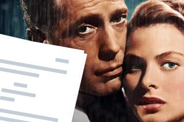 Casablanca Script PDF Download - Featured