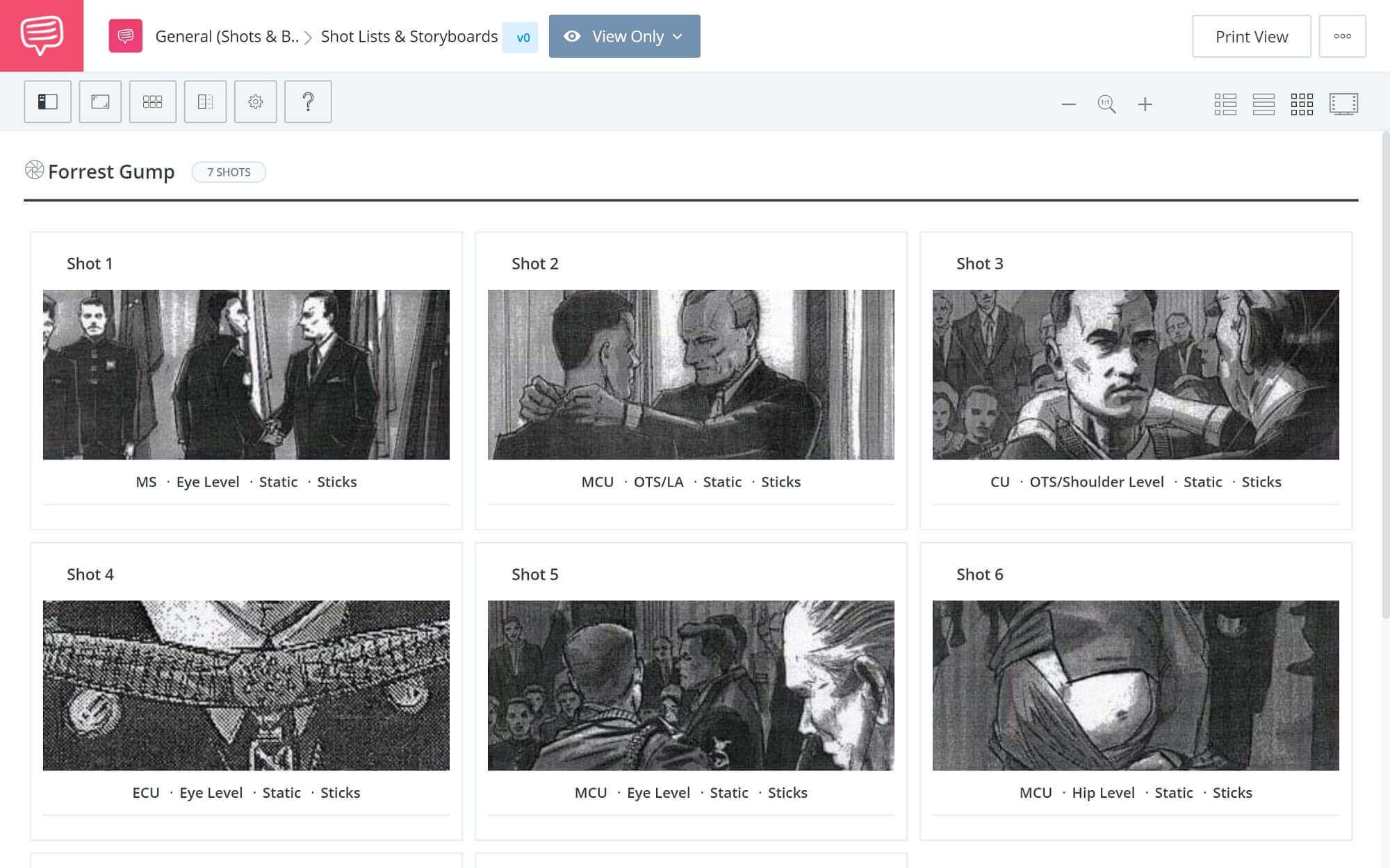 Film Storyboard Example - Forrest Gump Storyboard - StudioBinder Storyboarding Software