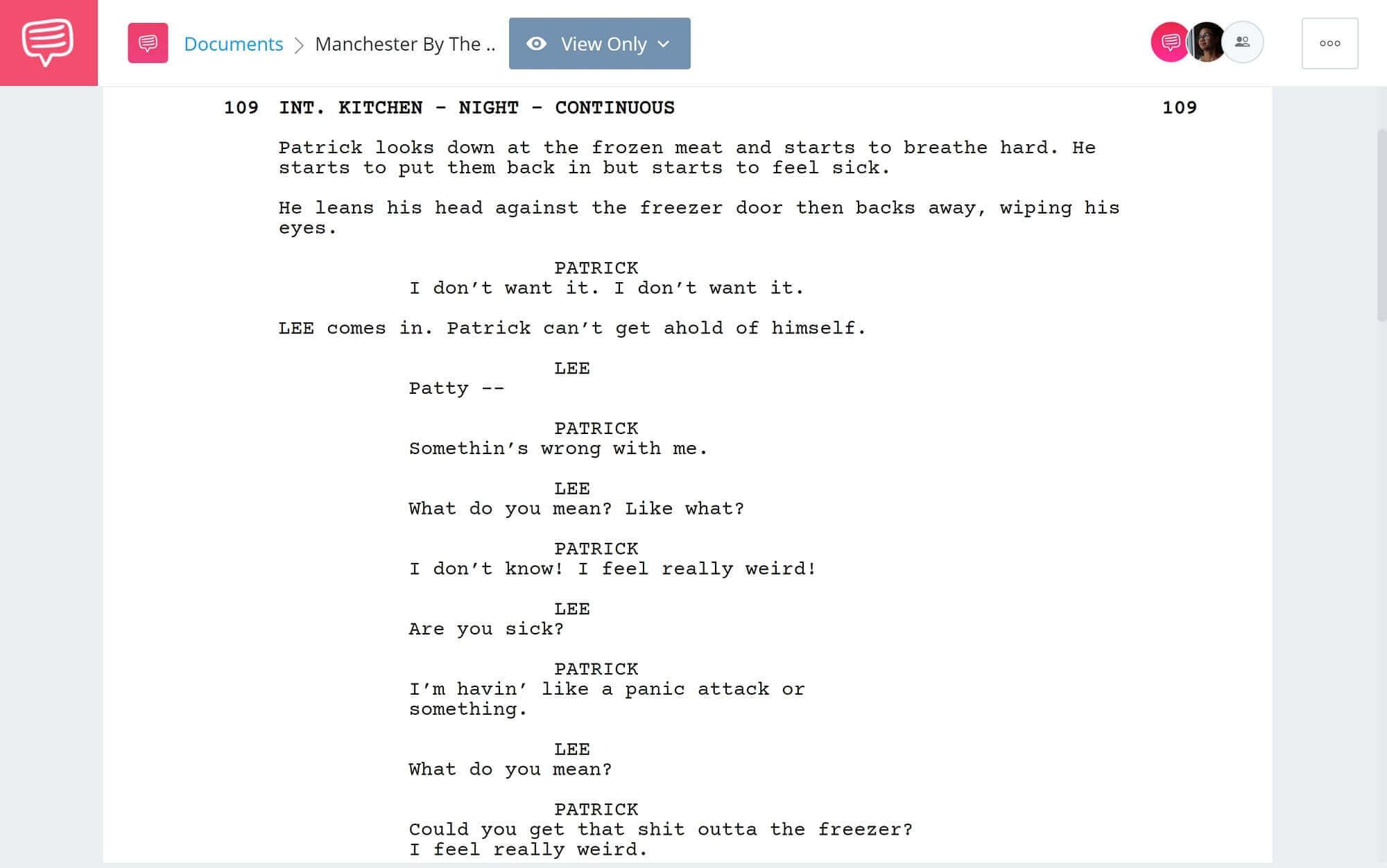 Manchester By The Sea Script Teardown -Patrick's Breakdown- StudioBinder Scriptwriting Software