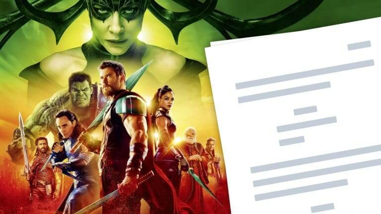 Thor Ragnarok Script PDF Download Plot, Characters, and Analysis - Featured
