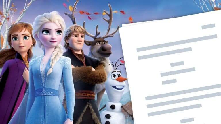 Frozen Script PDF Download - Plot, Quotes, and Analysis - Featured