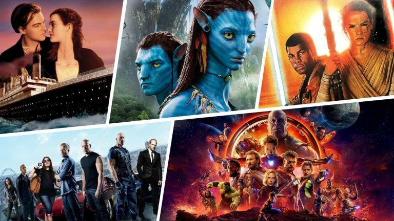 Highest Grossing Movies of All Time - What Makes a Blockbuster - Featured