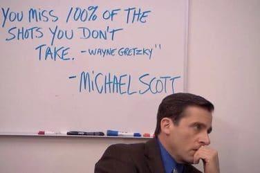 Michael Scott Wayne Gretzsky Quotes