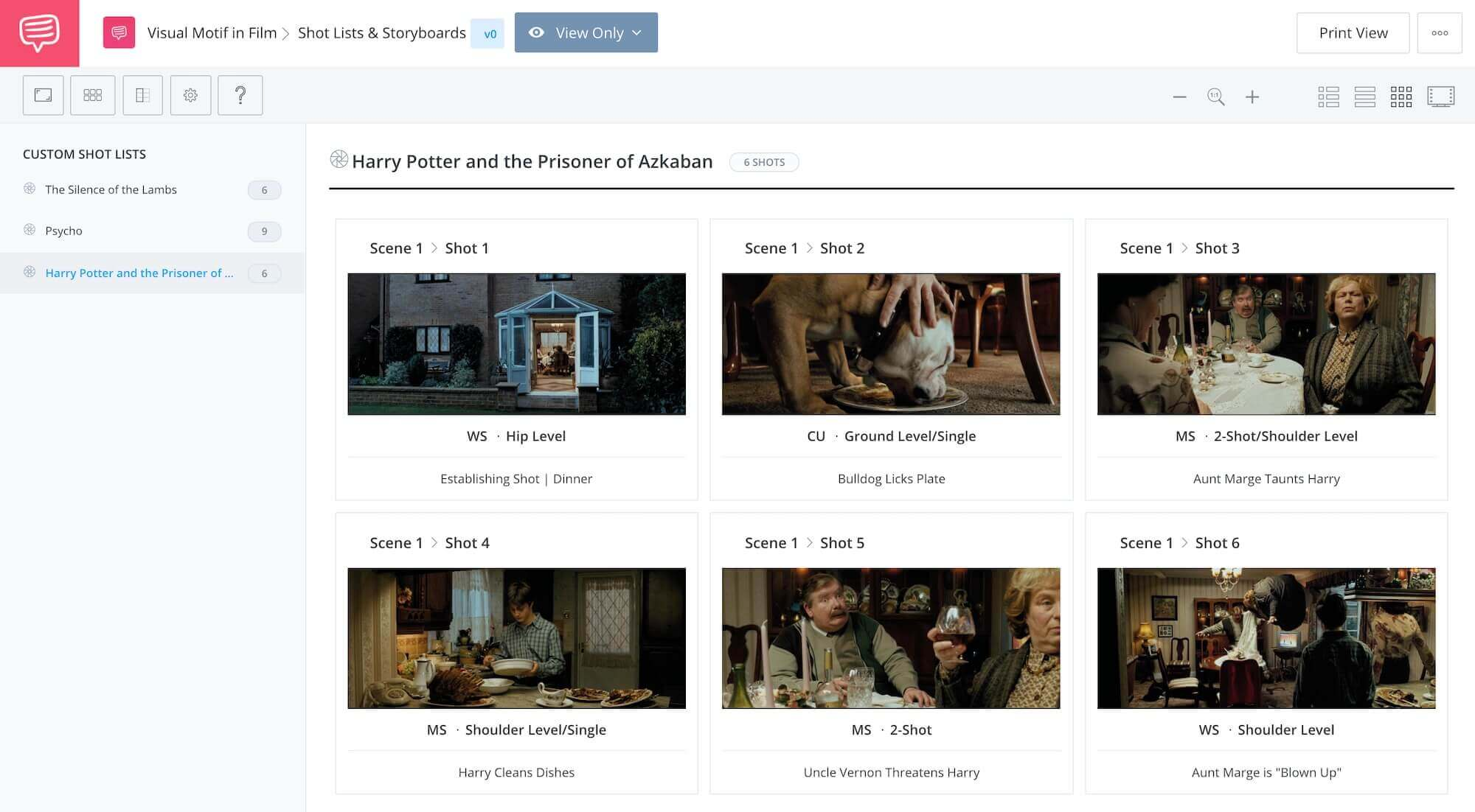 What is a Motif Definition and Examples - Harry Potter and the Prisoner of Azkaban - StudioBinder Storyboard