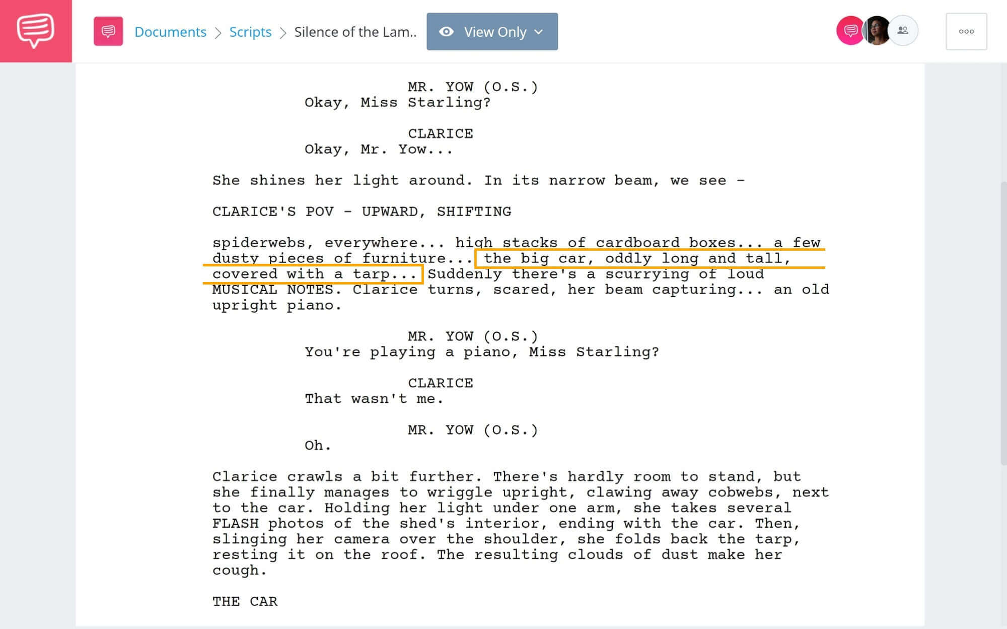 What is a visual motif - Silence of the Lambs - StudioBinder Screenwriting Software