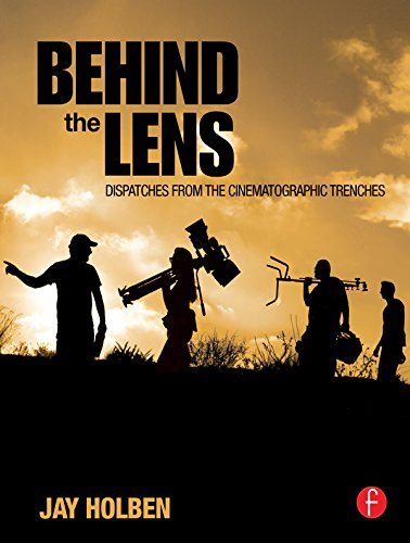 Best Cinematography Books - Jay Holben - Behind the Lens