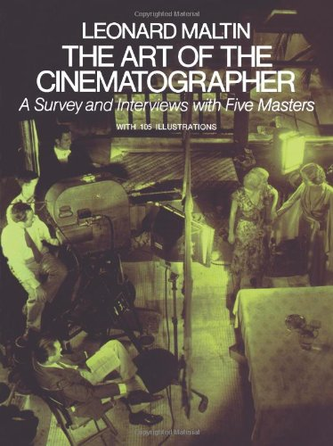 Best Cinematography Books - Leonard Maltin - The Art of the Cinematographer
