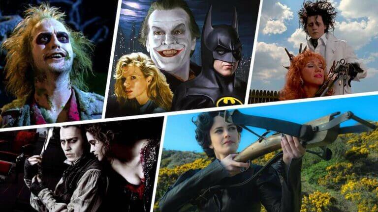 Best Tim Burton Movies - Featured