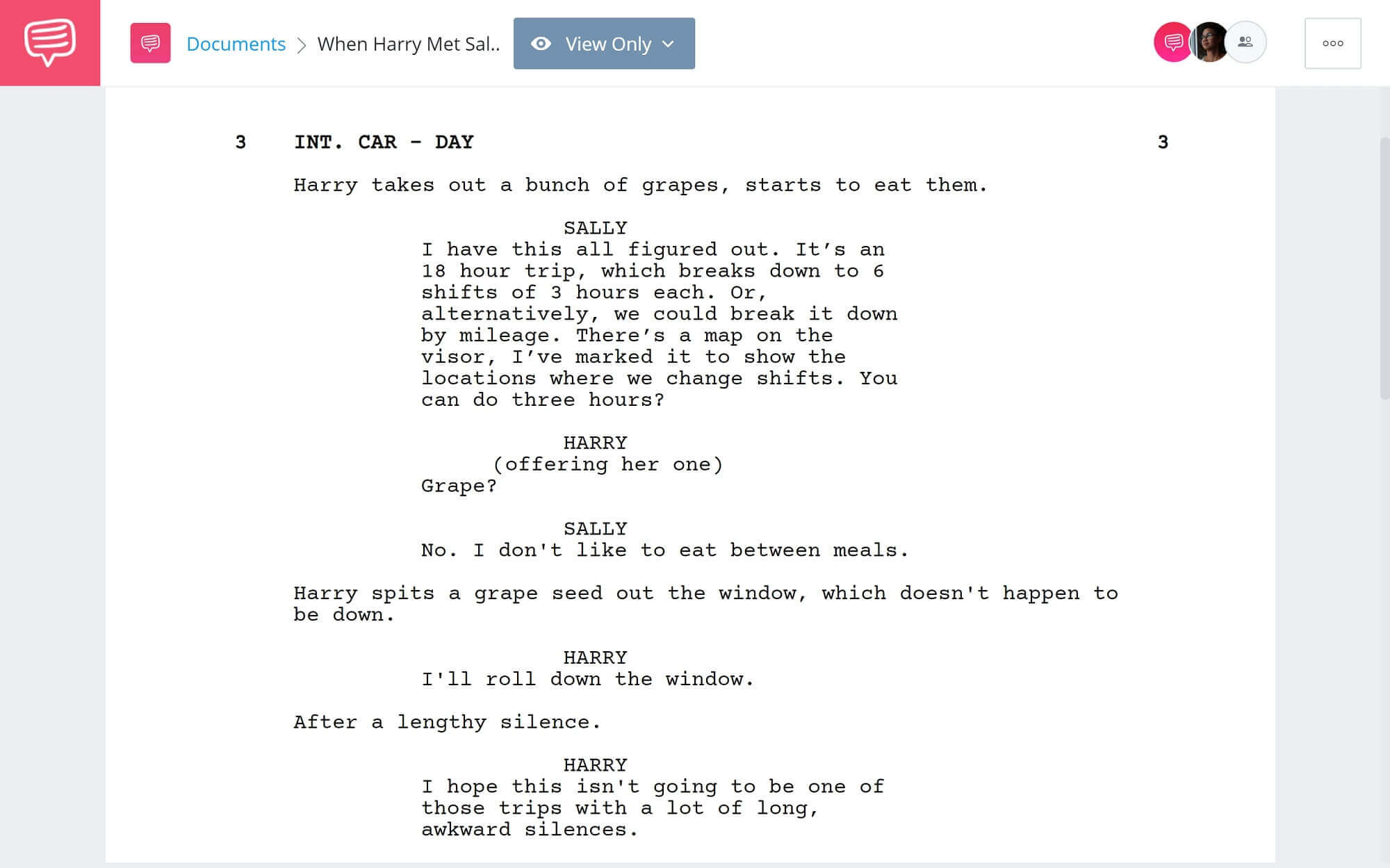 Meet Cute - When Harry Met Sally Scene - StudioBinder Screenwriting Software