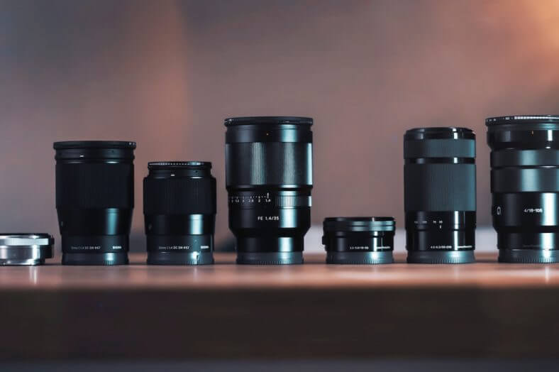 The Different Types of Camera Lenses for Video and Photography - Featured