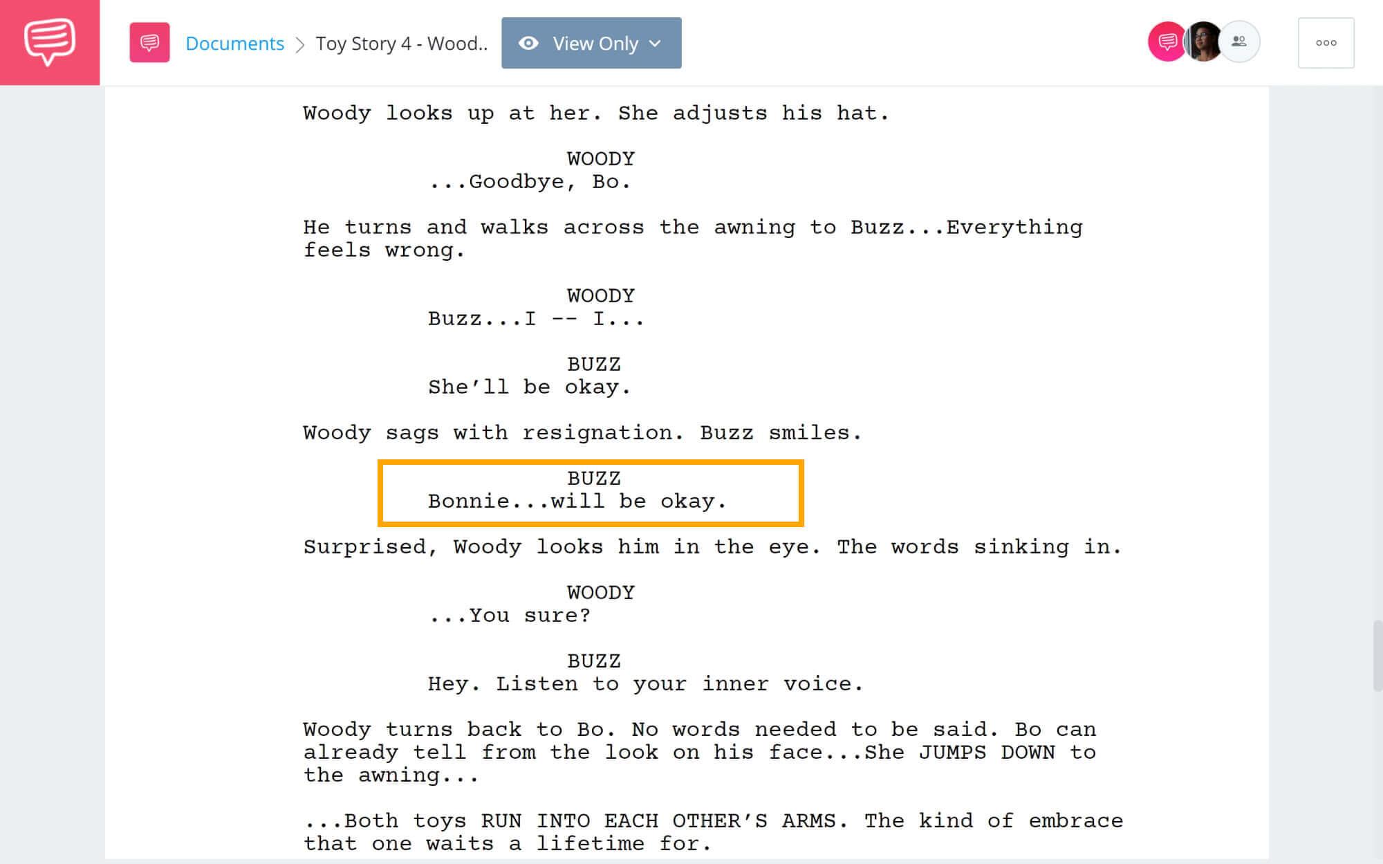 Toy Story 4 Script Teardown - Woody Says Goodbye - StudioBinder Screenwriting Software
