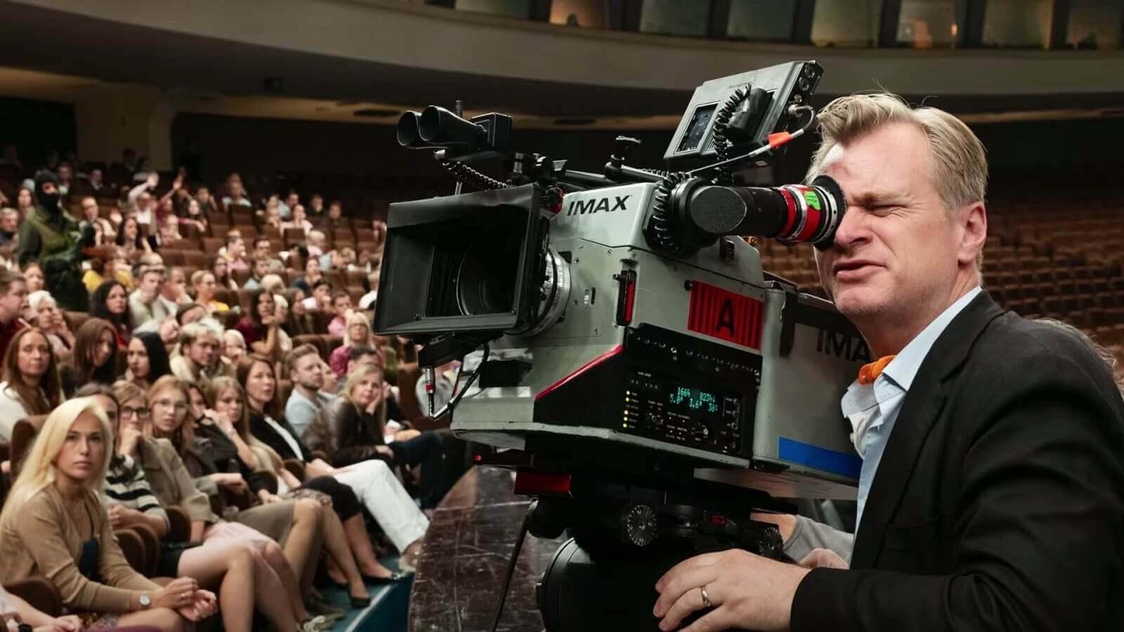 Behind the Scenes of Tenet Christopher Nolan