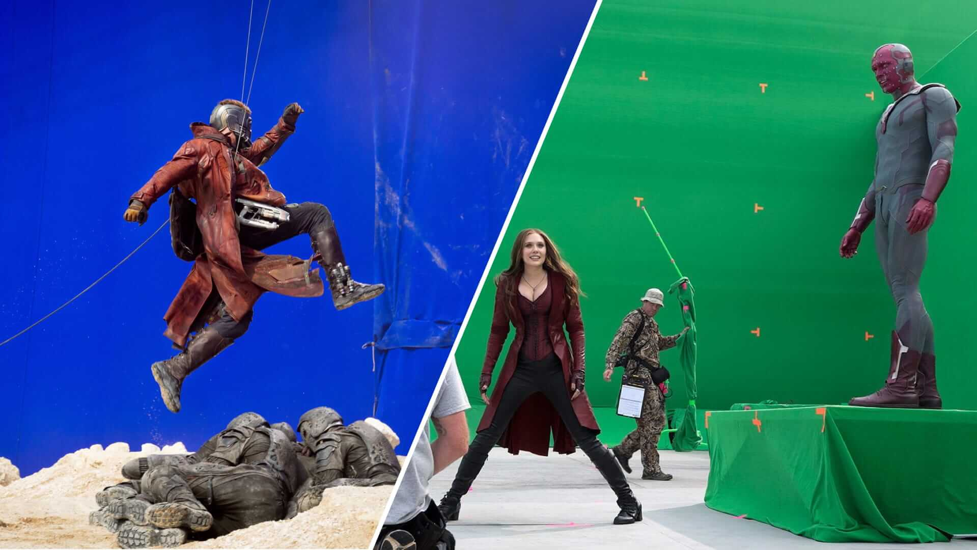 Blue Screen vs Green Screen Differences Explained - Featured