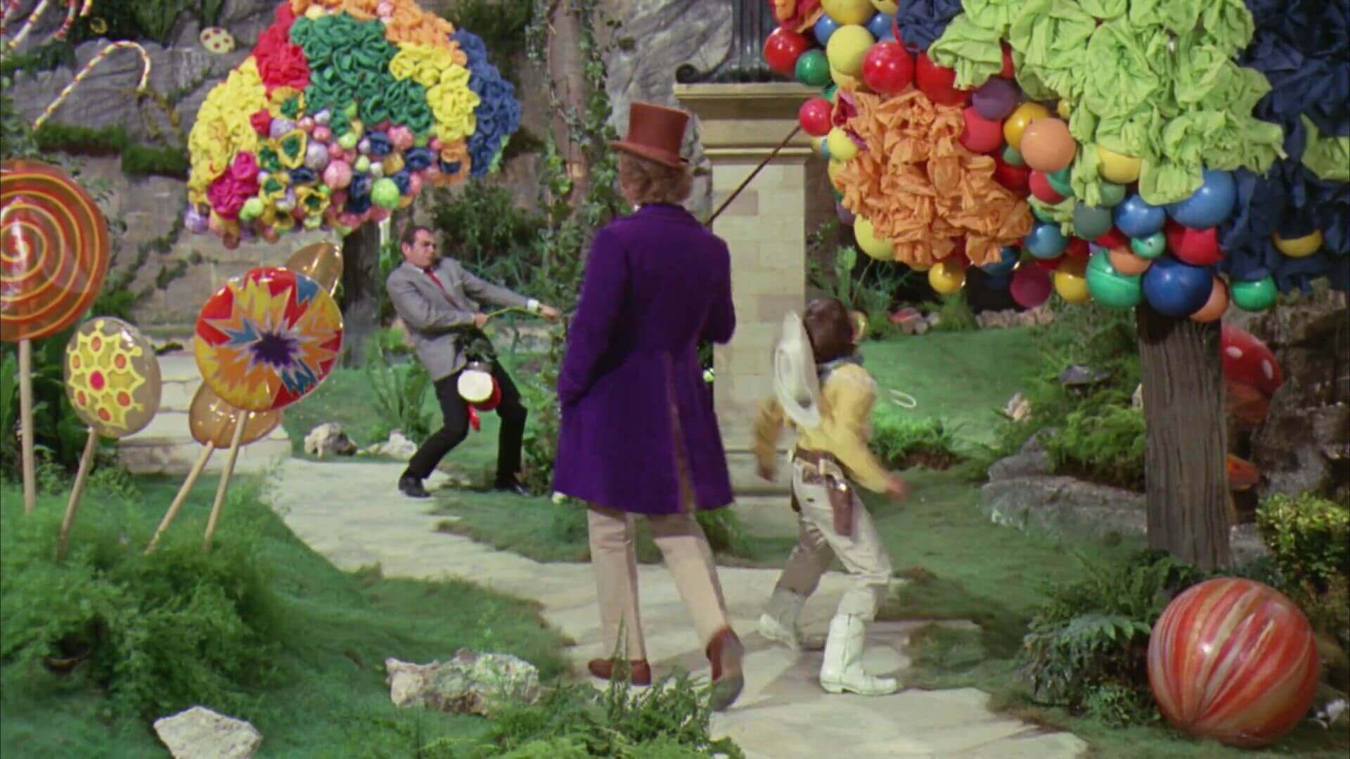 Color Paletter From Movies - Willy Wonka and the Chocolate Factory