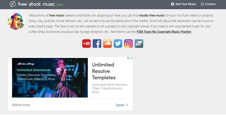 How Copiright Free Music Works - Free Stock Music Homepage