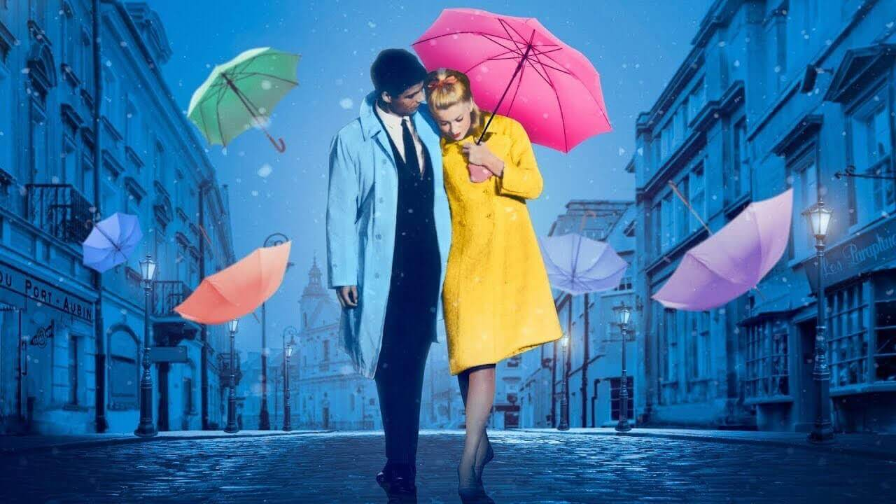 Mise En Scene Examples - The Umbrellas of Cherbourg