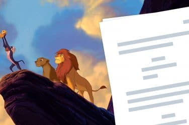 The Lion King (1994) Script PDF Download Plot, Quotes, and Analysis - Featured