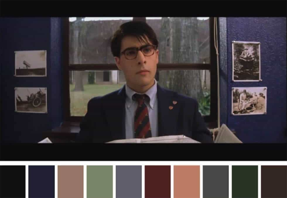 Wes Anderson Color Palette - Early Wes Anderson Color Palette