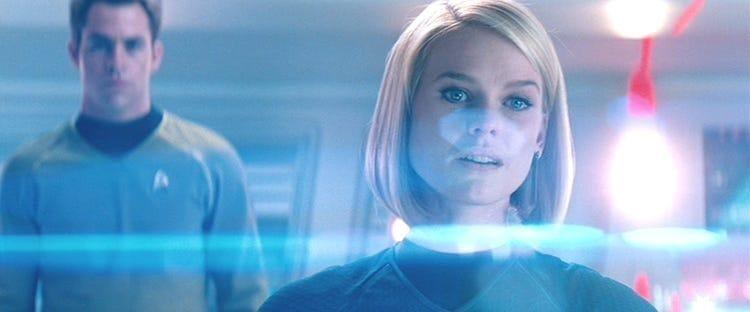 What is Anamorphic Lens - Anamorphic Lens Flare in Stark Trek