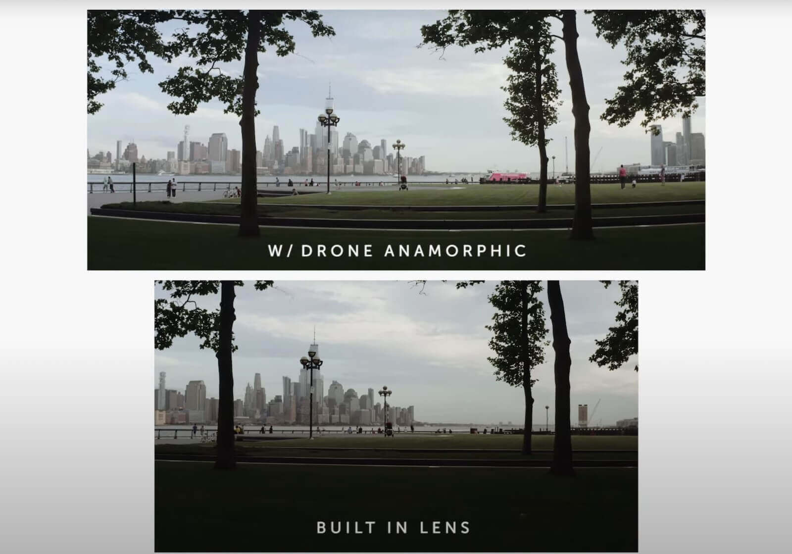 What is Anamorphic Lens - Comparison Between Anamorphic and Built In Lens