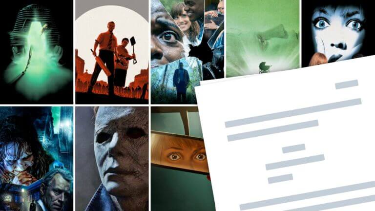 Best Horror Movie Scripts to Download Read Study Featured