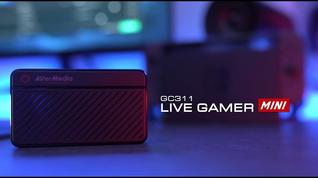 Best Capture Cards for Streaming - Game Capture - AverMedia Live Gamer MINI