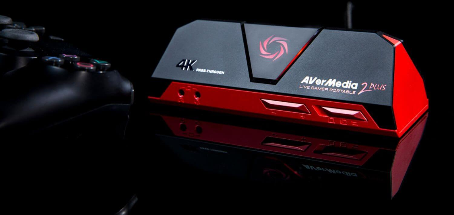 Best Capture Cards for Streaming - Game Capture - AverMedia Live Gamer Portable 2 PLUS