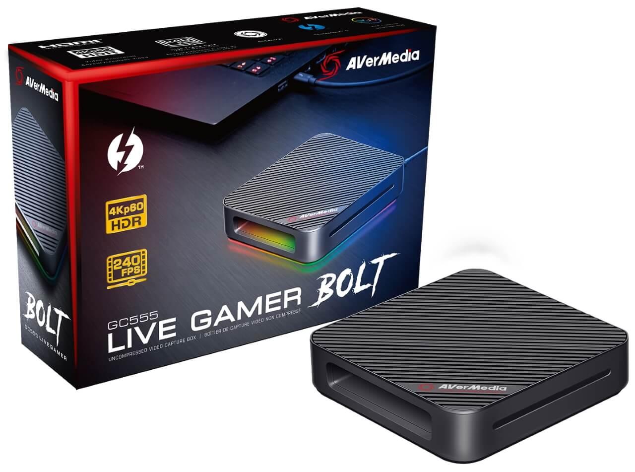 Best Capture Cards for Streaming - Game Capture - iVerMedia Live Gamer BOLT