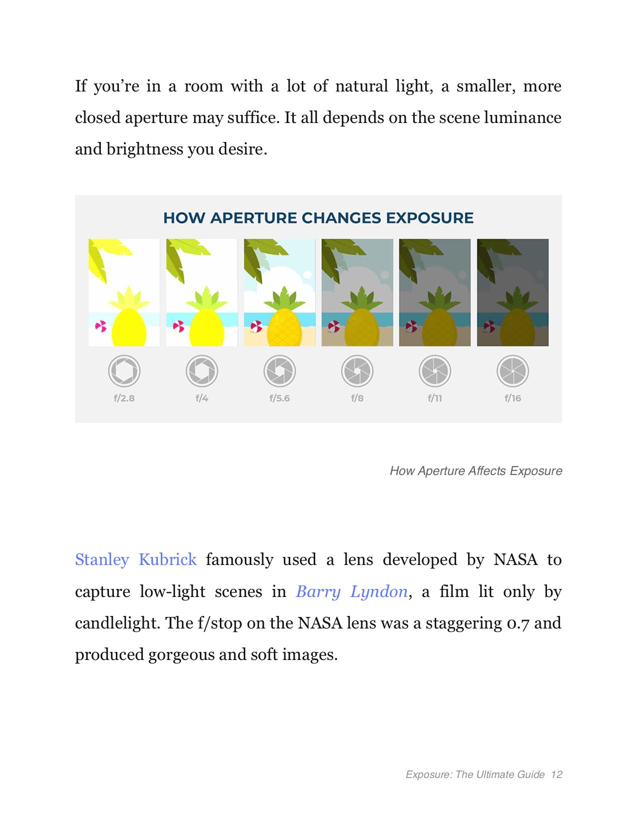 Exposure Triangle Ebook - The Ultimate Guide - Aperture Expose