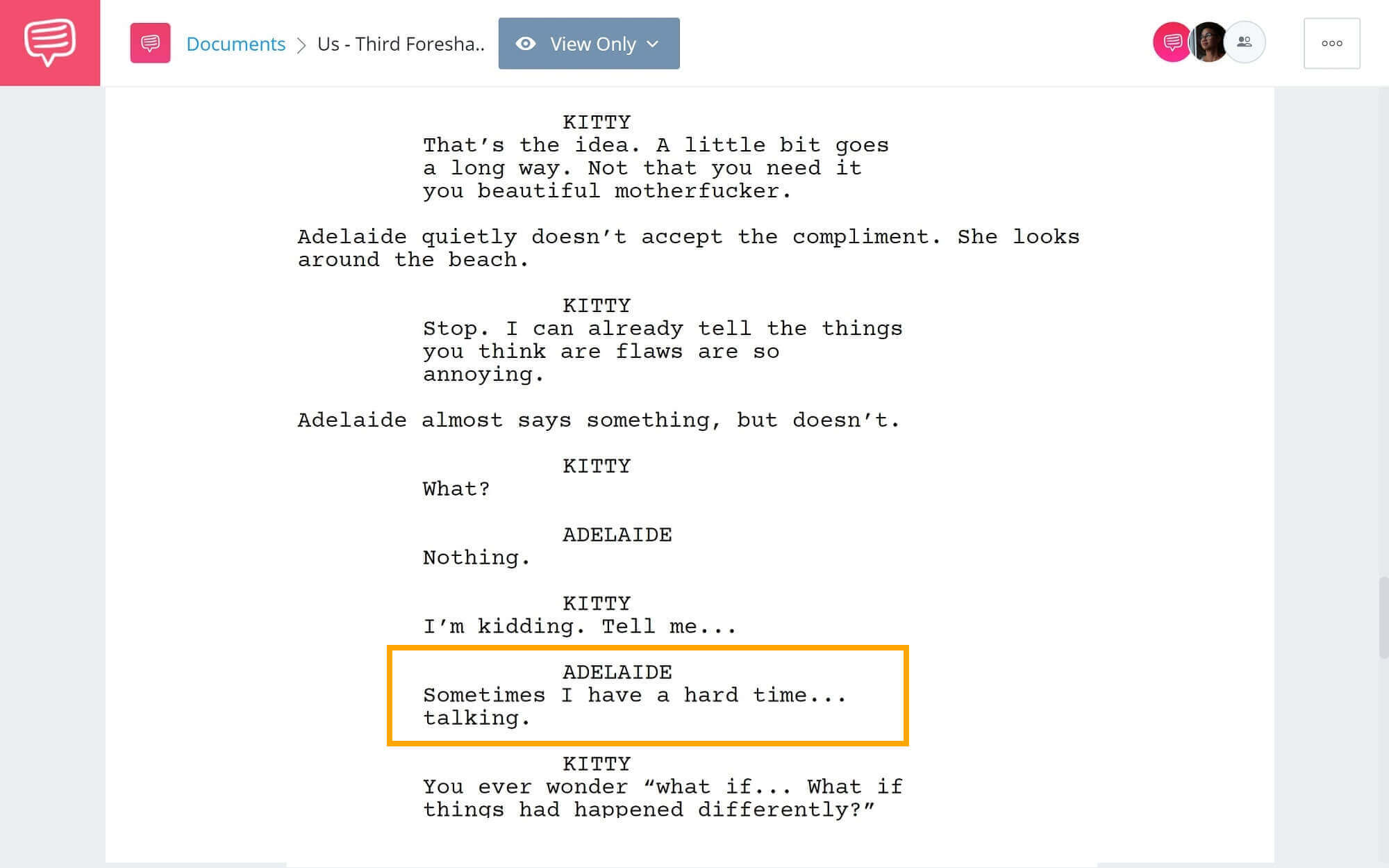 Foreshadowing-Example-From-Us-to-Parasite-Third-Foreshadowing-Example-from-Us-StudioBinder-Screenwriting-Software