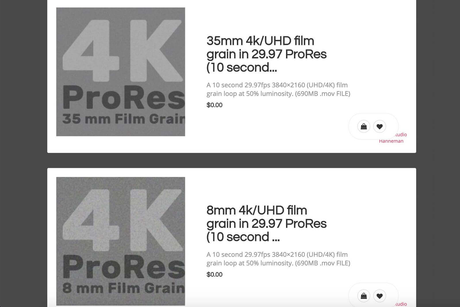 Free Film Grain Overlays - Resolver Tools