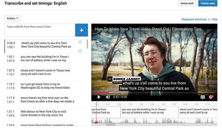 How to Add Subtitles to YouTube Video - Transcribe and Edit Subtitles
