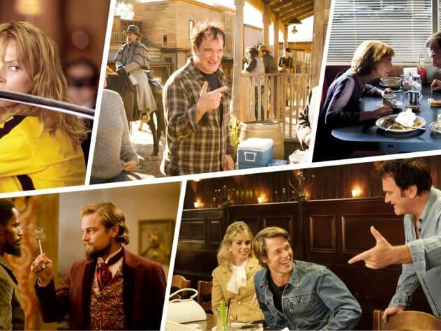 Quentin Tarantino Directing Tips and Quotes from Tarantino Interviews - Featured