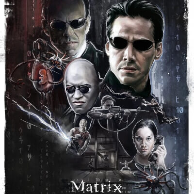 Streaming Post Template - The Matrix